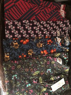 Lularoe Lot Of 4 Adaline Size 10 Dresses perfect for spring!  NWT