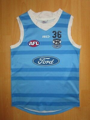 N.Vardy #36 Player Issue / Training Worn Geelong Cats Guernsey Jumper Jersey