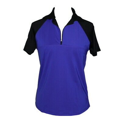 BNWT, Purple and Black Ladies Golf Top, FREE SHIPPING!