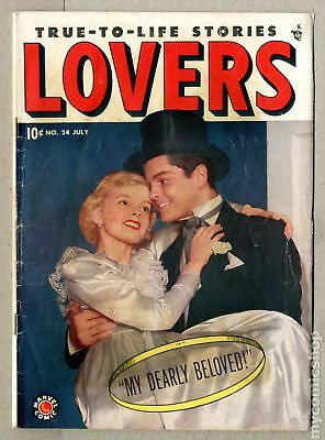 Lovers #24 1949 GD/VG 3.0