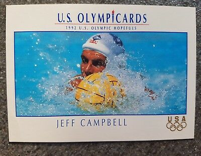 US Olymp Cards Jeff Campbell OS 1992 Nr. 96 Trading Card