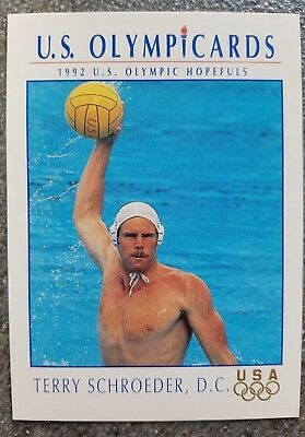 US Olymp Cards Terry Schroeder OS 1992 Nr. 99 Trading Card