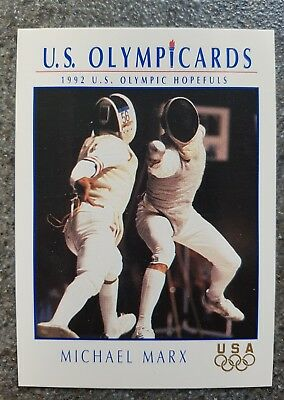 US Olymp Cards Michael Marx OS 1992 Nr. 43 Trading Card