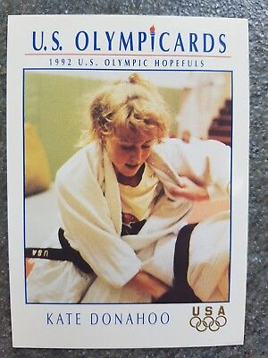 US Olymp Cards Kate Donahoo OS 1992 Nr. 51 Trading Card