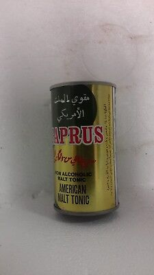 Caprus American Malt Tonic Brewed in USA for Arabia - Straight Steel Air Filled