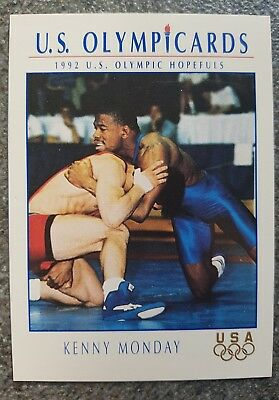 US Olymp Cards Kenny Monday OS 1992 Nr. 106 Trading Card