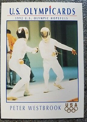US Olymp Cards Peter Westbrook OS 1992 Nr. 44 Trading Card