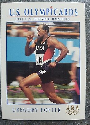 US Olymp Cards Gregory Foster OS 1992 Nr. 86 Trading Card