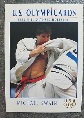 US Olymp Cards Michael Swain OS 1992 Nr. 52 Trading Card