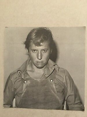 AUSTRALIAN TV   FAN CARD CAROL BURNS PRISONER 15x15cm