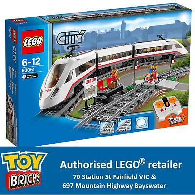 LEGO City High Speed Passenger Train 60051 (New and in stock)