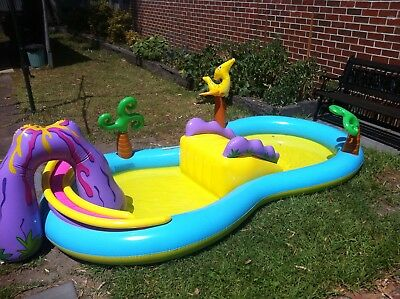 Intex Dinoland Play Centre. Inflatable Swimming Pool. Used, Good Condition