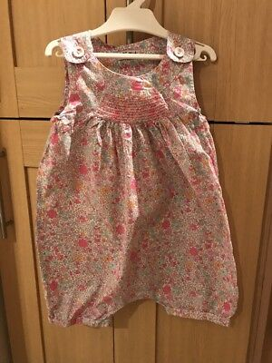 Next Girls Sunsuit Romper Playsuit Age 2-3 Years Excellent Condition