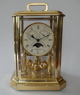Rare Sewills of Liverpool 4 Dial Anniversary Style Mantel clock 2776
