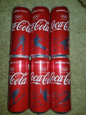 Coca-cola cans - olympic games 20018