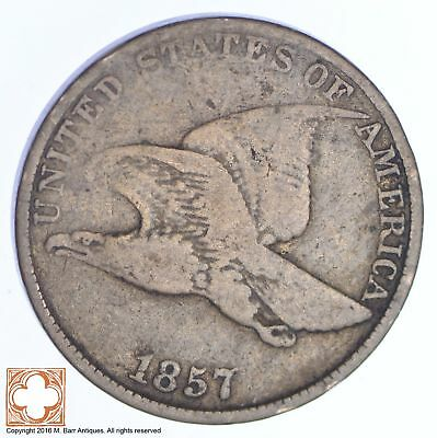 1857 Flying Eagle Cent *XB65
