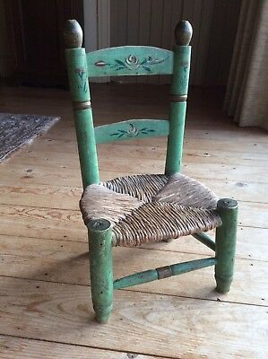 Antique Dolls Small Childs Chair