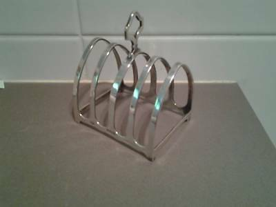 HALLMARKED SILVER Toast Rack MAPPIN & WEBB LTD 1928