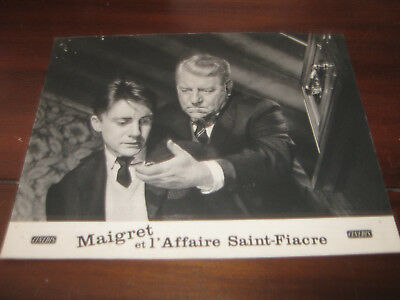 photo d exploitation maigret et l affaire saint fiacre gabin