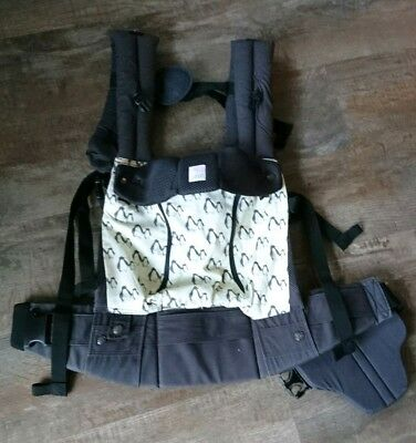 LilleBaby charcoal baby carrier pink lining all seasons