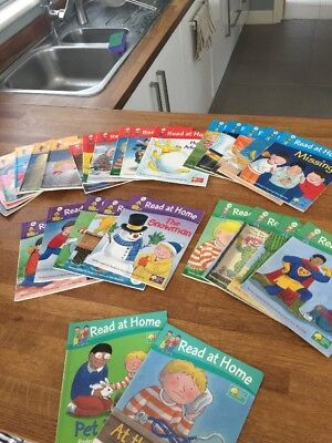 Oxford Reading Tree Read At Home 26 Book Set Levels 1 - 5  + 2 Bonus Ones