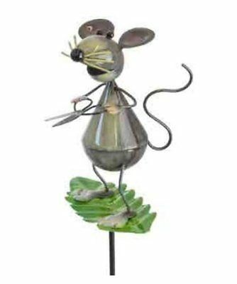 Molly the Mouse - Leaf Luvlies Planter Decoration