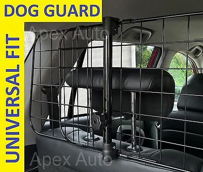 FORD FIESTA HATCHBACK DOG GUARD Boot Pet Safety Mesh Grill EASY HEADREST FIT