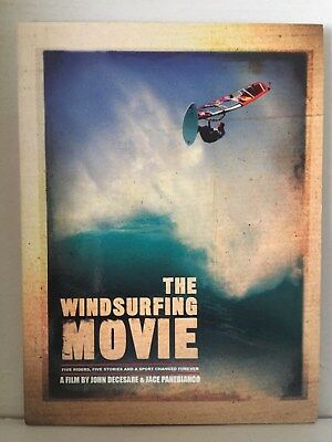 The Windsurfing Movie ~ Dvd ~ Decesare Naish Siver Polakow Angulo Lenny Gossein