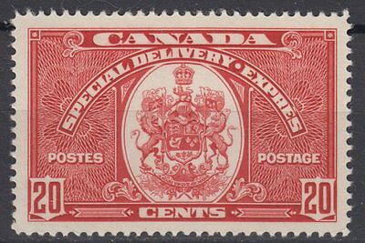 Canada #E8 20¢ Special Delivery Mint Never Hinged - B