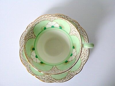 Rare Art Deco Foley Bone China Cup & Saucer Set