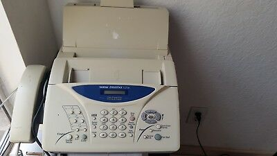 Brother IntelliFAX 1270e - Plain Paper Fax Machine, Phone, Copier - Used