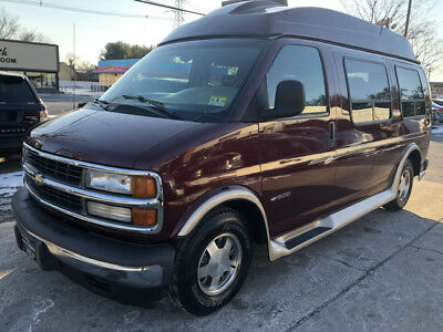 2002 Chevrolet Express Base Standard Passenger Van 3-Door 1 owner conversion van free shipping warranty loaded cheap finance leather clean