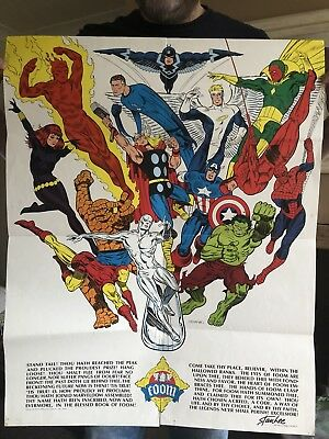 Foom Poster By Steranko