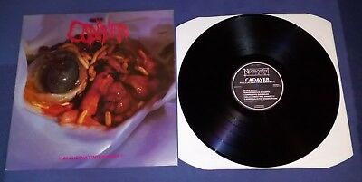 Cadaver ‎– Hallucinating Anxiety vinyl  first press entombed carnage unleashed