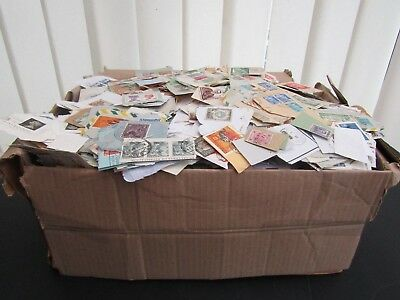Box Of European/cw & /worldclippings -Early To Modern - Fine & Extensive