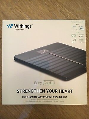 Nokia / Withings Body Cardio Scale Black (Great Condition)