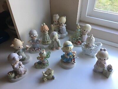 Precious Moments Figurines Lot Of 12