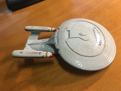 Star Trek Next Generation Galoob Enterprise 1701-D Metall Druckguss