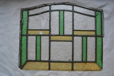 SCRAP FLEMISH leaded light stained glass. Code: S457. DELIVERY!
