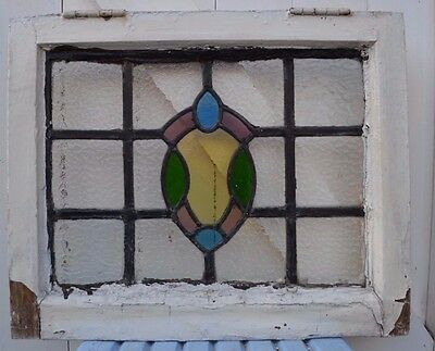 Leaded light stained glass window. B494b. WORLDWIDE DELIVERY!