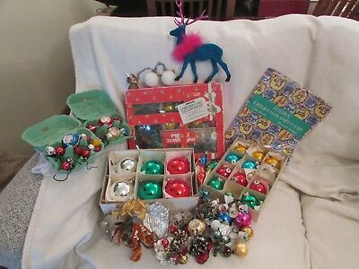 Vintage Christmas Decorations / Lights (Pifco) 1050s, 1960s and 1970s.
