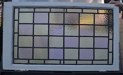 Leaded light stained glass window for above door R430. WORLDWIDE DELIVERY!