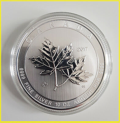 50 CAN Dollar - Kanada Maple Leaf -Magnificent -10 Oz Silber 2017 -10 Unzen  neu