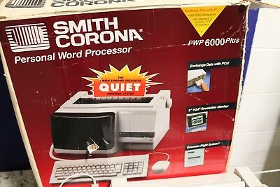 Smith Corona PWP6000 Plus Word Processor