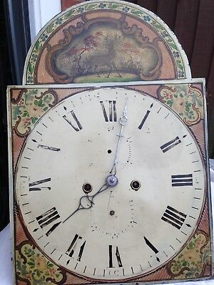 Eight day Longcase/Grandfather Clock Movement