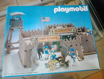 Playmobil - Fort Randall - No 3419 - Komplett in OVP mit Anleitung - Zustand 1A