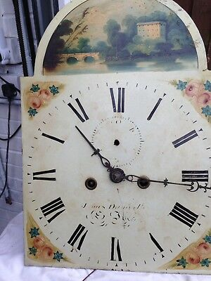 Eight day Longcase Clock Movement And Dial