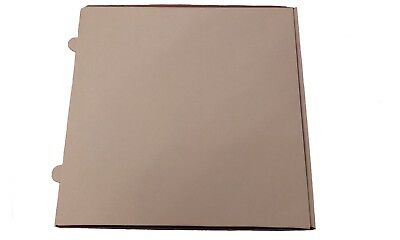 Plain White Strong Quality Pizza-Takeaway-Postal Boxes 12  and  20 inch