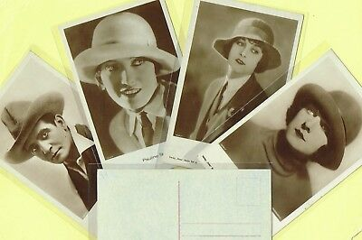 ROSS VERLAG - 1920s Film Star Postcards produced in Germany #1297 to #1375