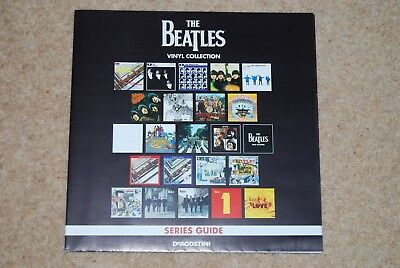Deagostini The Beatles Vinyl Collection Poster.
